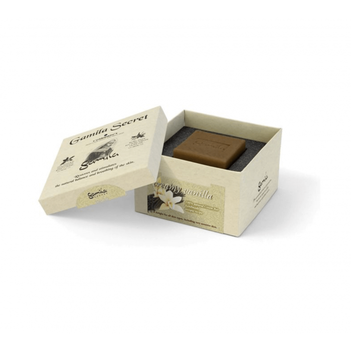 Sapone Creamy Vanilla 115 gr - Gamila Secret