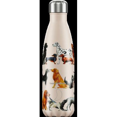 Chilly's Emma Bridgewater Dogs 500 ml - Bottiglia in acciaio inox