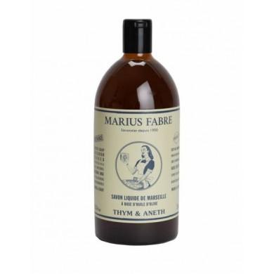 Sapone di Marsiglia liquido Timo & Aneto - Marius Fabre