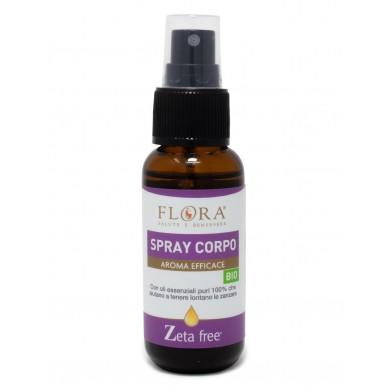 Zeta Free Spray Corpo BIO-ICEA 30 ml - Flora