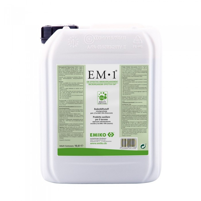EM-1 Additivo per il Suolo 10L - Emiko®