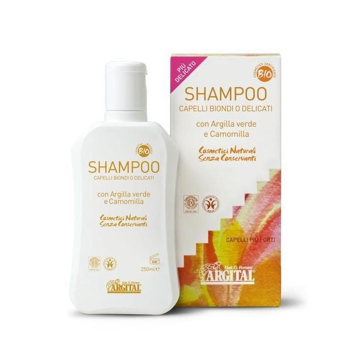 Shampoo Capelli Biondi o Delicati 250 ml - Argital