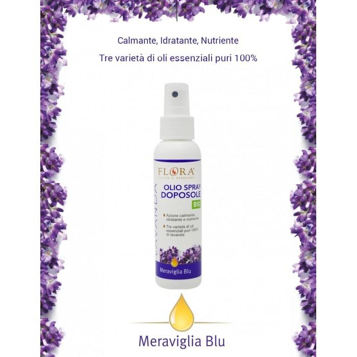 Meraviglia Olio Doposole spray Lavanda  100 ml - Flora