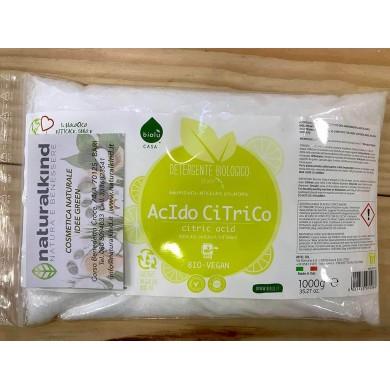 Acido Citrico vegetale 500 gr - Biolù