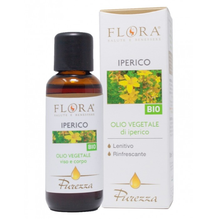 Purezza Olio di Iperico 50 ml Bio-Cosmos - Flora