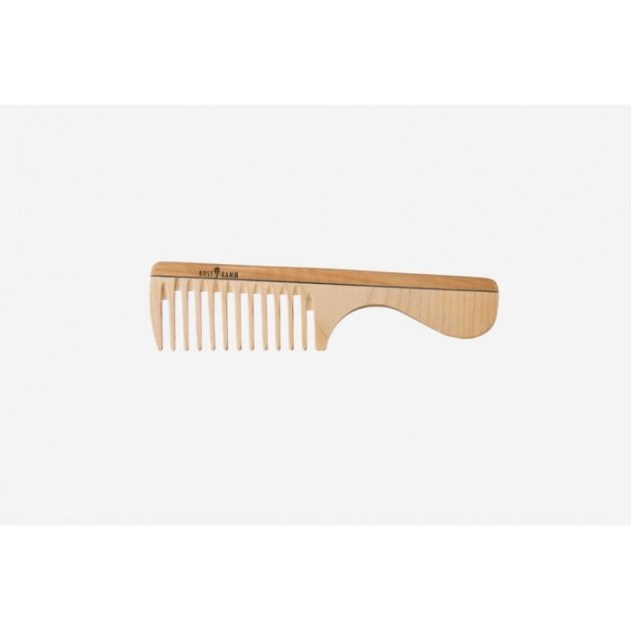 Pettine con manico in legno extra-largo 19 cm - Kost Kamm