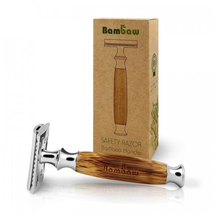 Rasoio Zero-Waste in bamboo - Bambaw