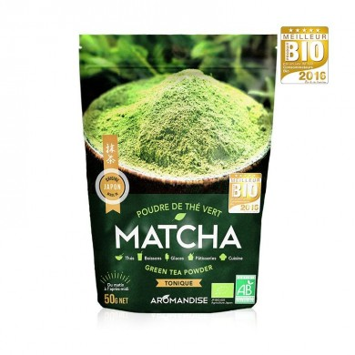 The Verde Bio Matcha 50 gr - Aromandise