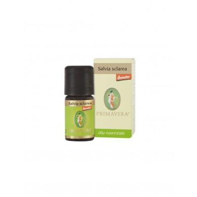 Olio Essenziale di Salvia sclarea 5 ml BIO-DEMETER - Flora
