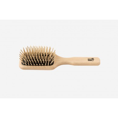 Mini Paddle-Brush Spazzola in Legno 20 cm - Kost Kamm