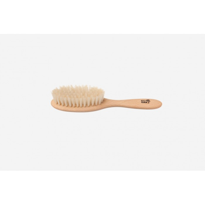 Spazzola da massaggio/capelli Kids in faggio e Sisal 18,5 cm - Kost Kamm