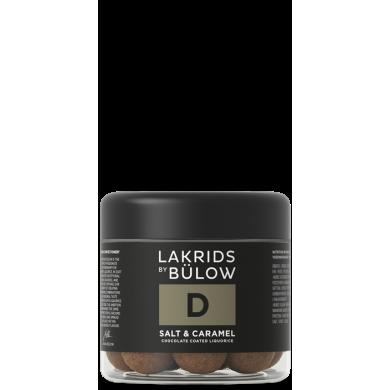 D - Salt & Caramel Liquirizia, cioccolato dolce e sale marino 125 gr - Lakrids