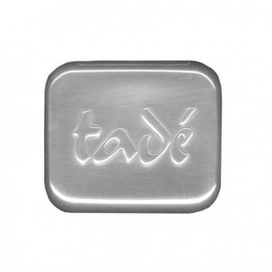 Porta sapone in alluminio 9x7 cm - Tadé