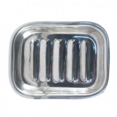 Base Porta sapone in acciaio inox rettangolare - Tadé