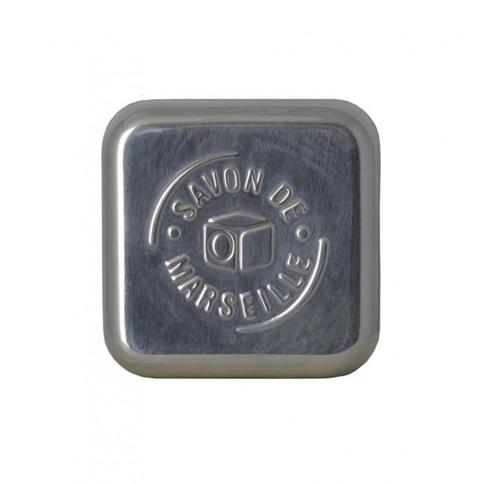 Porta sapone in alluminio Cubo di Marsiglia - Tadé