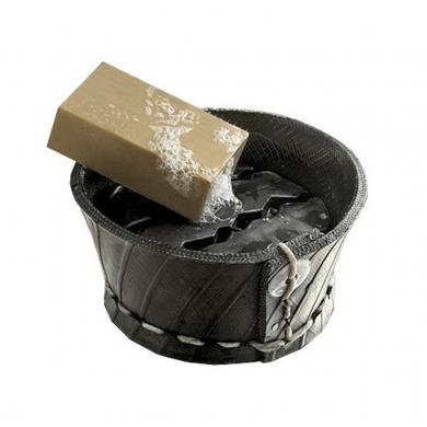 Porta sapone in pneumatico riciclato - Tadé