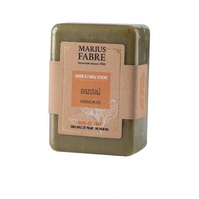 Saponetta all'olio d'Oliva e Sandalo senza olio di palma 150 gr - Marius Fabre