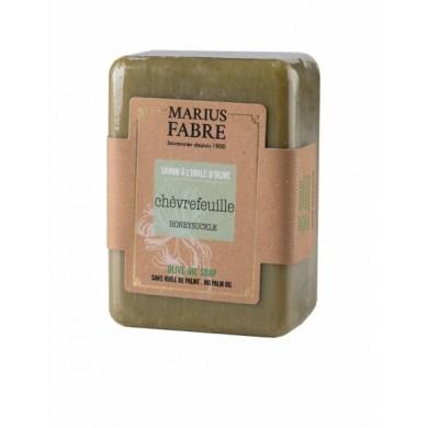 Saponetta all'olio d'Oliva e Caprifoglio senza olio di palma 250 gr - Marius Fabre