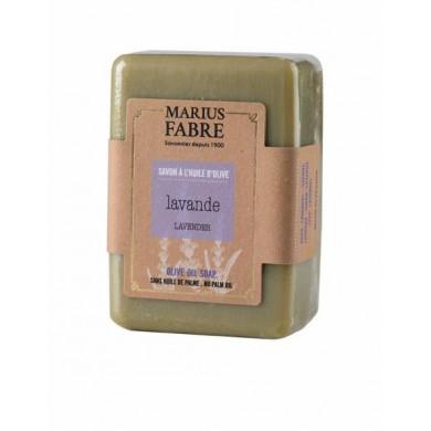 Saponetta all'olio d'Oliva e Lavanda senza olio di palma 250 gr - Marius Fabre