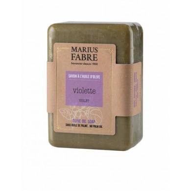 Saponetta all'olio d'Oliva e Violetta senza olio di palma 250 gr - Marius Fabre