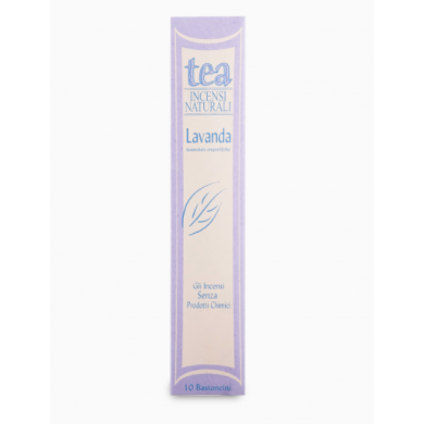 Incenso naturale Lavanda - Tea Natura