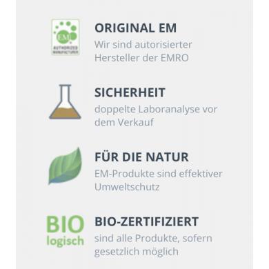 EM PetCare Integratore alimentare Bio per cani e gatti 0,5 L - Emiko®
