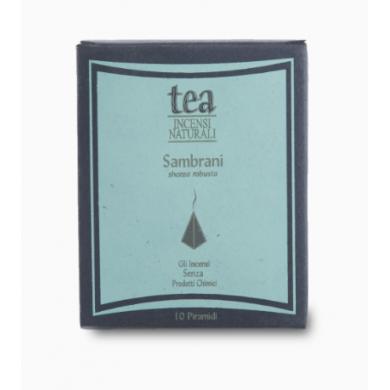 Piramide Incenso naturale Sambrani - Tea Natura