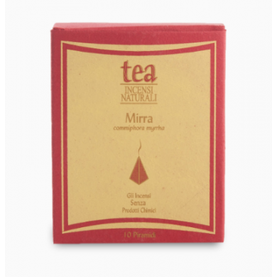 Piramide Incenso naturale Mirra - Tea Natura
