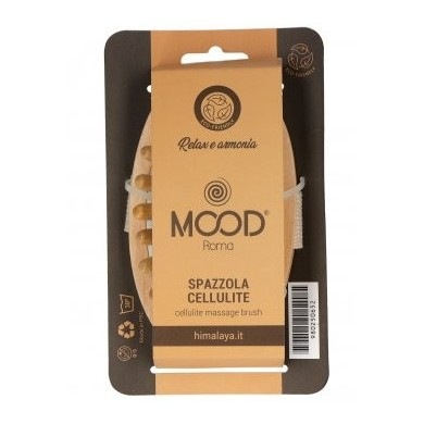 Spazzola anti-cellulite con dentini in legno - Mood