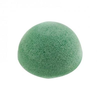 Spugna Konjac verde viso e corpo - Natural Kind
