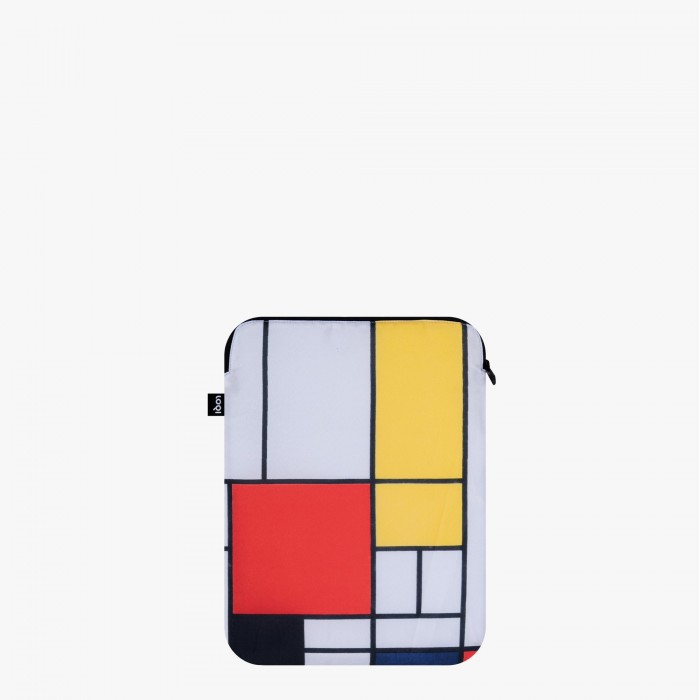 Laptop cover recycled Mondrian - Loqi
