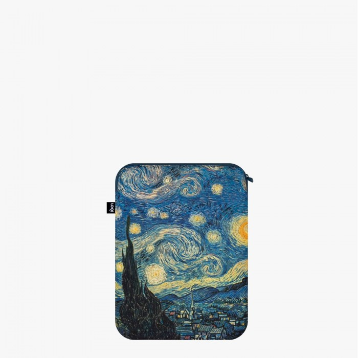 Laptop cover recycled Starry Night  - Loqi