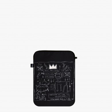 Laptop cover recycled Basquiat - Loqi