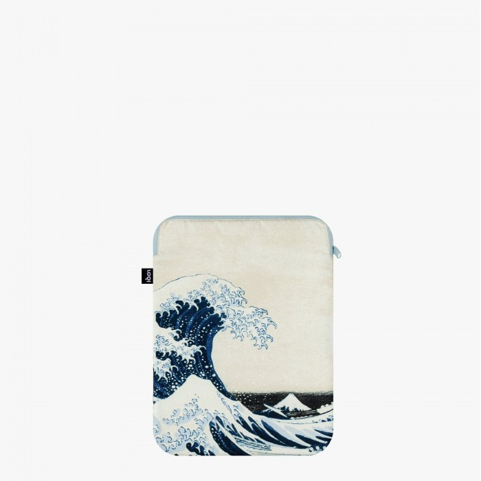 Laptop cover recycled The Great Wave  - Loqi