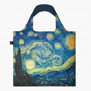 Borsa Shopping Bag Recycled The Starry Night - Loqi
