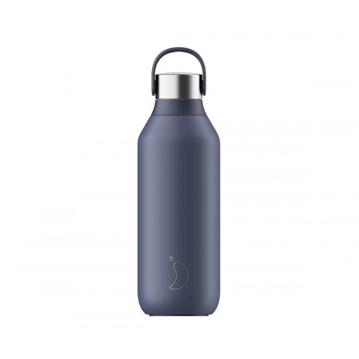 Chilly's Bottiglia Termica Serie 2 Whale Blue 500ml