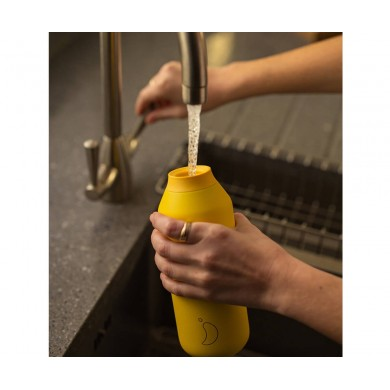 Chilly's Bottiglia Termica Serie 2 Pollen Yellow 500ml