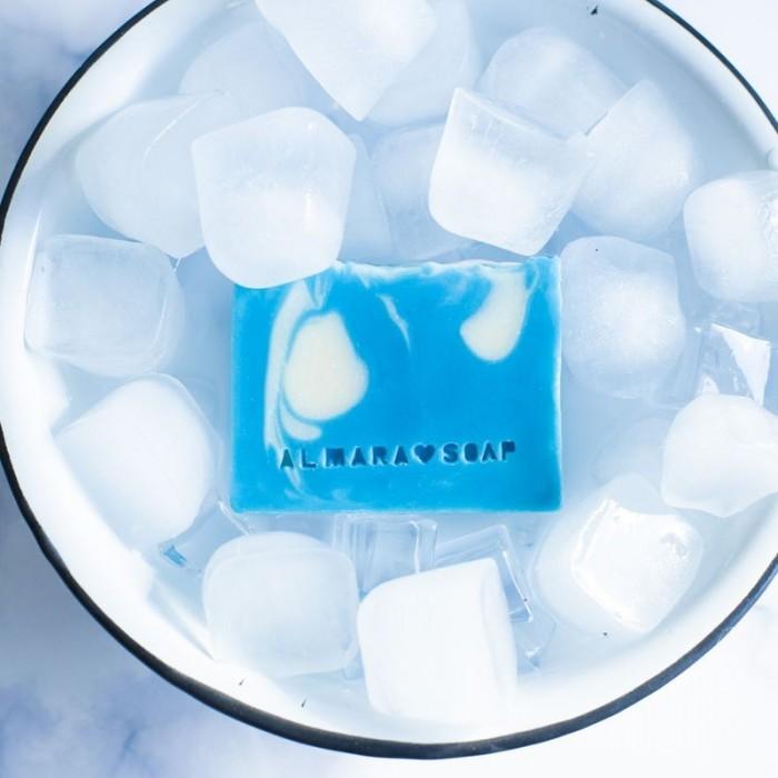 Sapone artigianale naturale Acqua fresca 100gr - Almara Soap