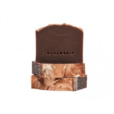 Sapone artigianale naturale Cioccolata calda 100gr - Almara Soap