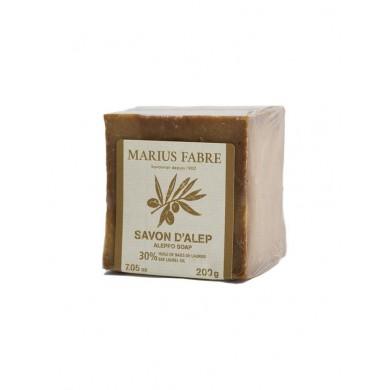Saponetta di Aleppo con Olio di Alloro 30% 200 gr - Marius Fabre