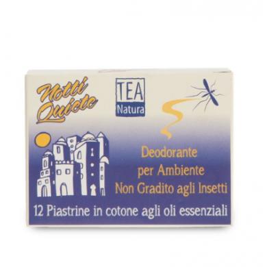 Piastrine Deodoranti per Ambiente Notti Quiete 12 pz - Tea Natura