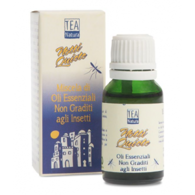 Oli essenziali Miscela Notti Quiete 15 ml - Tea Natura