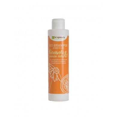 Shampoo girasole e arancio dolce - La Saponaria