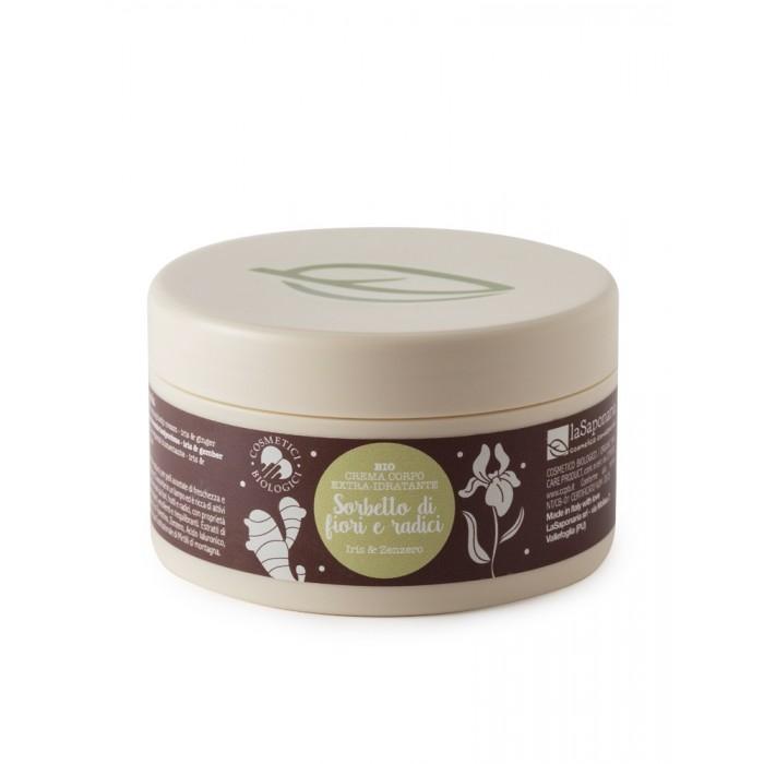 Crema corpo idratante Sorbetto di fiori e radici - La Saponaria