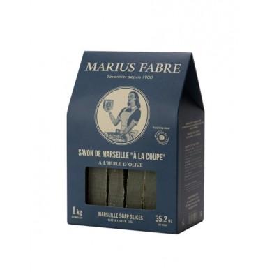 Fette Sapone di Marsiglia all'Olio di Oliva 1Kg - Marius Fabre