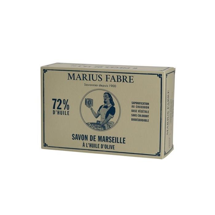 Scatola Sapone di Marsiglia all'Olio di Oliva 6x400g - Marius Fabre