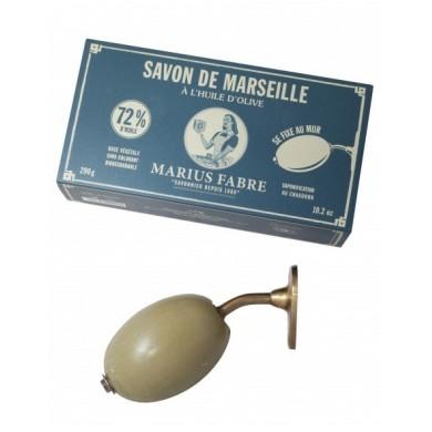 Sapone di Marsiglia rotativo da parete Kit 290g - Marius Fabre
