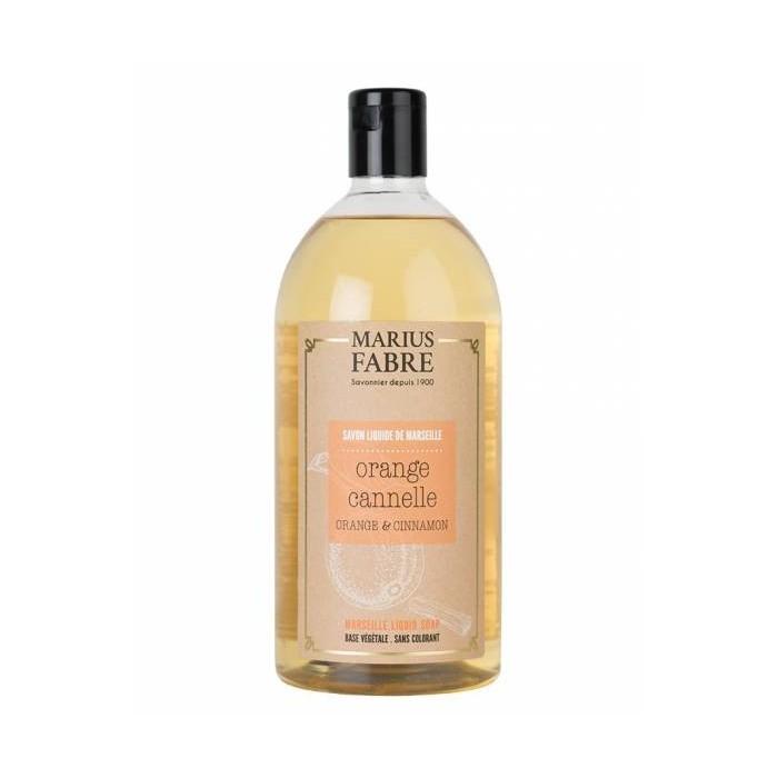 Sapone Liquido di Marsiglia Arancia & Cannella - Marius Fabre
