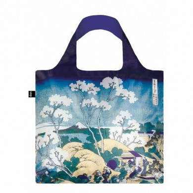 Borsa Shopping Bag HOKUSAI, FUJI FROM GOTENYAMA - Loqi