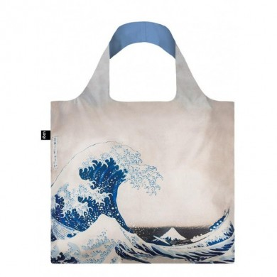 Borsa Shopper HOKUSAI, THE GREAT WAVE - Loqi